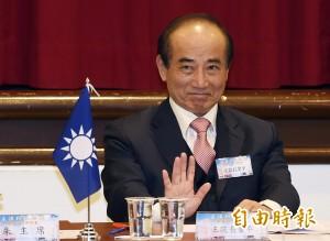 朱傳話不選2016 王金平:不要當一回事