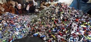 日海關去年扣押仿冒品破紀錄 9成來自中國