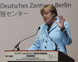 梅克爾以德國經驗 籲日正視二戰歷史