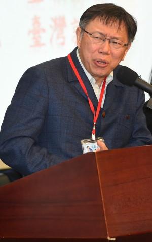 扁遭爆收政治獻金 柯P:每天在亂是幹什麼?
