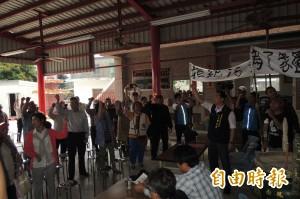 「不要養雞場在我家!」台東新園居民堅決反對