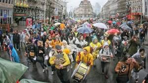 比利時撙節政策引民怨 2萬人上街抗議