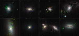 捕捉宇宙飄渺殘影 神秘綠光驚艷NASA