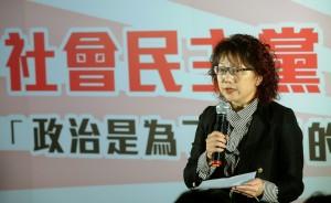 傳范雲拜會蔡英文? 社民黨:現階段不會與綠營協調