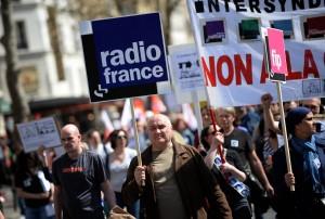 法國大罷工  巴黎鐵塔暫關閉