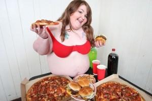 日吃1萬卡熱量  「大尺寸美女」直播吃飯秀賺錢