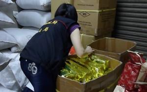 英國藍6款茶檢出農藥 台中封存302公斤