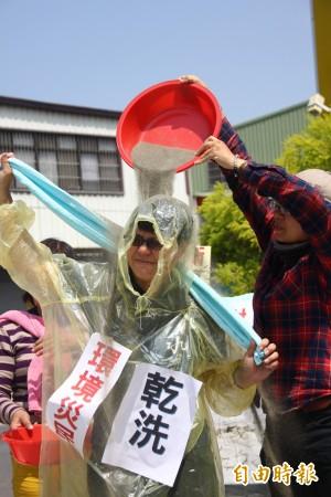 翁重鈞將水保法修正案排入議程 環團抗議險釀衝突