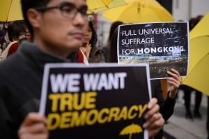 歐盟公布報告 力挺香港「真普選」