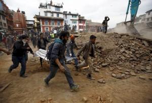 尼泊爾強震 規模4.5以上餘震已達16次