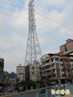 鴨母港溝景觀打造 1.3公里長見5座高壓電塔