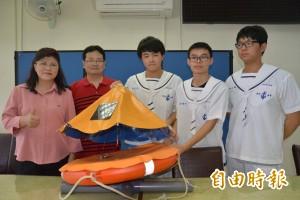 海水可以供電?蘇澳海事學生發明獲全國冠軍