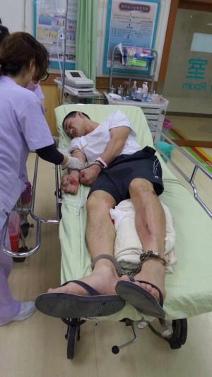警察緝毒連開18槍 毒犯小腿中彈送醫