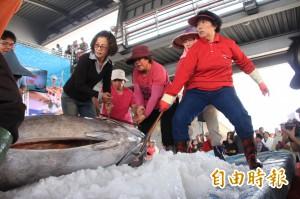 來客剩5成 東港黑鮪魚買氣直直落