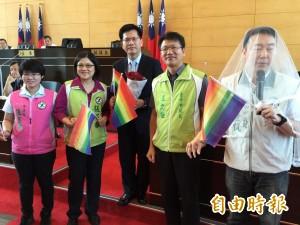 林佳龍挺同志權益 歡迎參加聯合婚禮