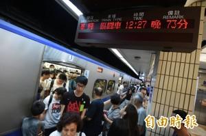 台鐵今電車線路狀況多  一早出兩次包