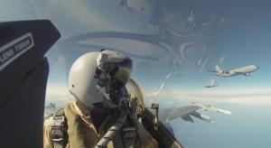 空戰廝殺! 美荷戰機模擬作戰影片曝光