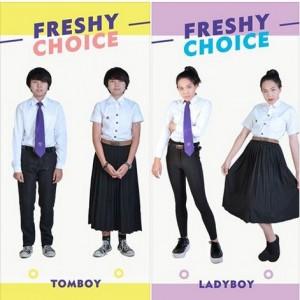 酷!泰國變性、同志學生可自由選制服