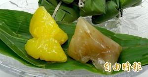 發展特色產業 竹崎農會推「晶橙舞橙圓圓」冰粽