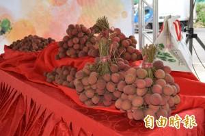 太平荔枝進軍日本超市 價格翻漲15倍