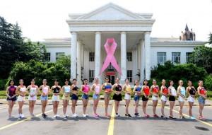 「給乳房放假!」中國杭州女員工穿肚兜上班