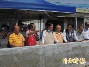 台南建國排水整治 高速公路沿線積水將改善