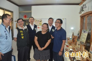 外籍藝術家林峰為愛到台灣