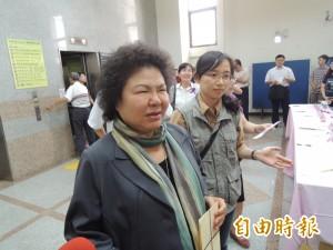 5年才起訴邱毅 陳菊:遲來的正義不是正義