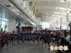 原住民歌舞快閃高鐵 暖場7月4日豐年祭