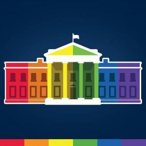 白宮不白了  彩虹白宮慶祝全美同性婚姻合法化