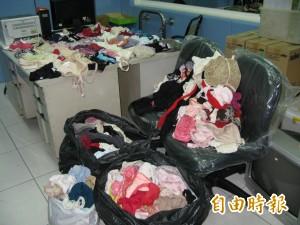 內衣賊出沒新莊 家中起出100多件女內衣