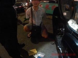 高雄一男子機車藏毒被警查獲  竟誆稱糖粉