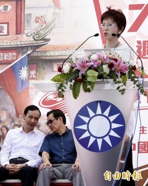 國民黨全代會前菜:黨內天王內鬥卡柱戲