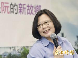 TVBS民調 洪秀柱落後蔡英文12個百分點