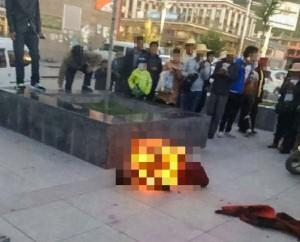 不滿中國高壓統治 青海再傳藏人自焚