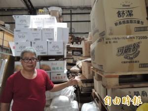 神岡區愛心食物銀行拉警報 扶助戶7月沒菜可吃