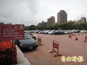 新竹縣府車位難尋 明年起擬收費管理