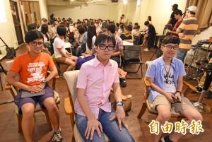 香港學運要角來台 雨傘太陽花激盪反課綱學運