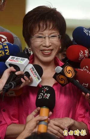 蔡英文「釣魚台是台灣的」 洪秀柱:何不對李登輝說?
