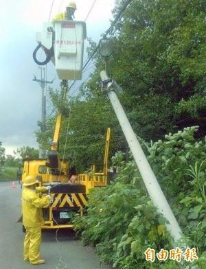 怪風造成路燈不亮? 竹山公所:人為破壞是主因