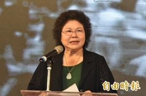 陳菊呼籲年輕人 珍惜生命活著實踐理想