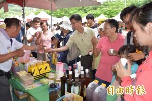 大崗山龍眼蜂蜜文化節 熱鬧登場