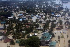 緬甸數週暴雨釀大水災 逾80多人死亡