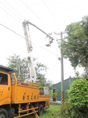 蘇迪勒釀全台大停電 士林北投晚間10點復電