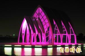 台南北門水晶教堂 七夕將再點燈