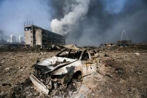 天津爆炸主要為硝酸品 劇毒氰化鈉恐已洩漏