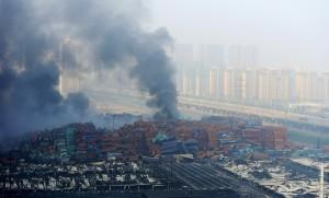 天津爆炸公司 曾稱爆炸不會影響周遭