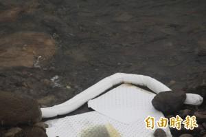 基隆河沿岸殘油未清 瑞芳居民飲水「油」隱憂