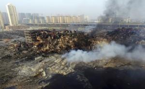 天津事故地又爆炸 官方急撤2公里內人員