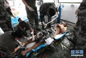 天津大爆炸  中媒:已救出1名生還者